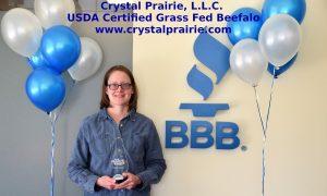 2019 BBB Spark Award - Crystal Prairie, L.L.C.