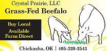 Crystal Prairie logo